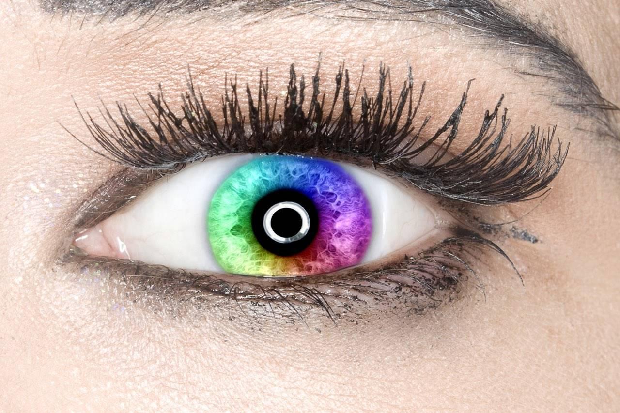 eye colour spectrum pupil close up