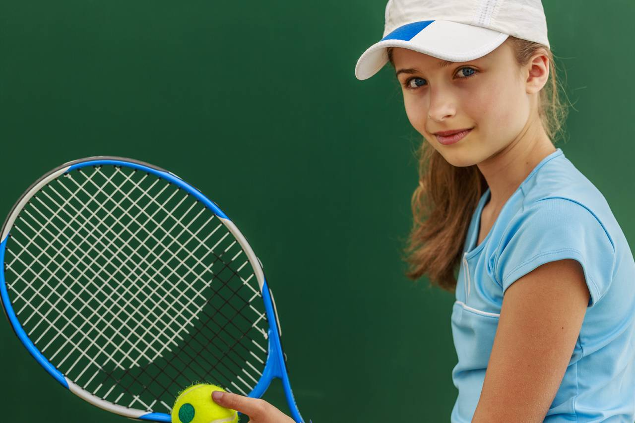 girl play tennis, optometrist, Frisco & Breckenridge, CO