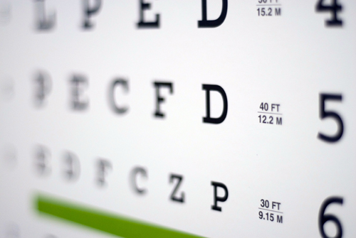 broward eye car, eye chart