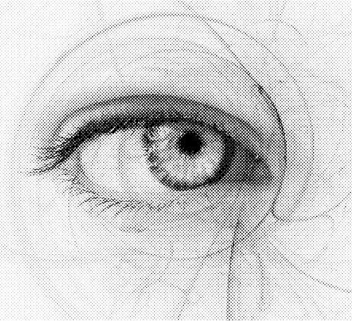 eye 20halftone