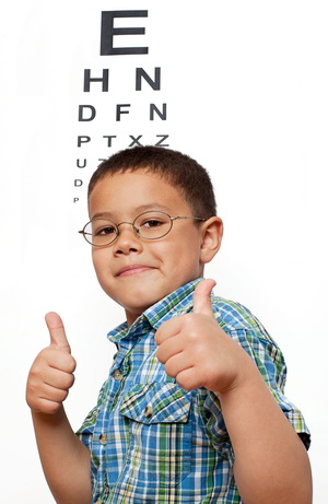 Childrens eye exam at eye doctor san jose