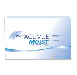 1 Day Acuvue Moist Contact Lenses from your Oakville optometrist