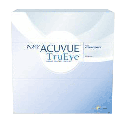 1 Day Acuvue TruEye Contact Lenses from your Burlington optometrist