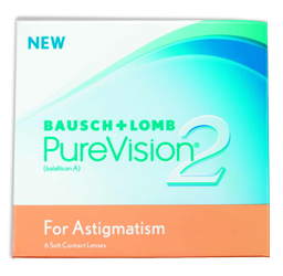 PureVision Contact lenses For Astigmatism in Jefferson City mo