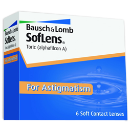 SofLens Toric contact lenses for Astigmatism