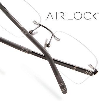 Airlock eyeglasses Belmont CA