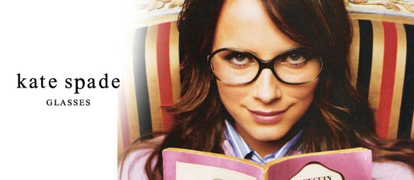 Kate Spade Glasses ad Overland Optometry