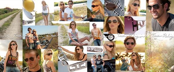 True Religion Photo Collage