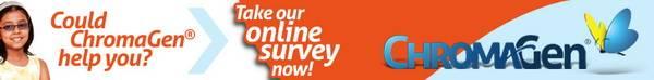 chromagen survey banner