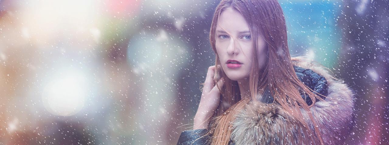 a girl snowing contact lenses East Brunswick NJ