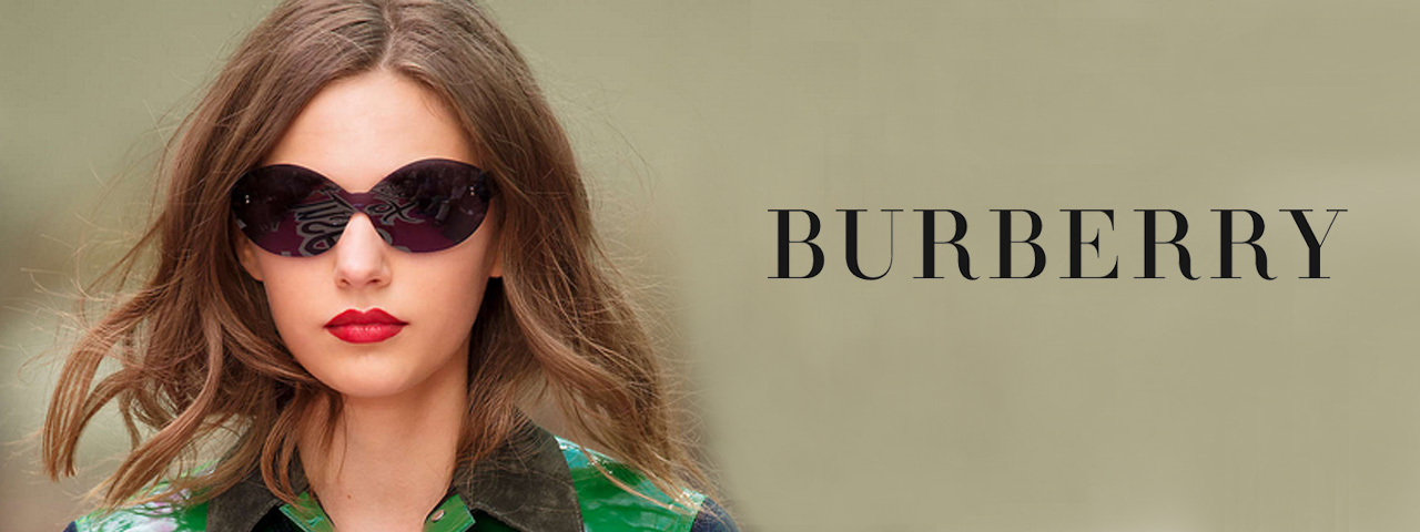 Woman wearing Burberry Sunglasses